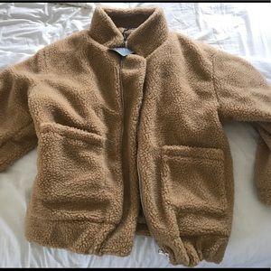 Zaful Fuzzy Teddy Jacket